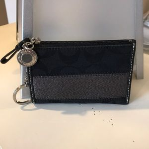 Authentic Coach keychain/pouch